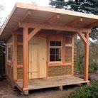 gartenhaus pavillon und lauben aus fachwerk oder robinie. Black Bedroom Furniture Sets. Home Design Ideas
