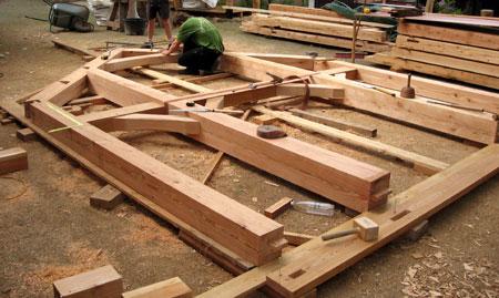 Timberframe und traditioneller fachwerkbau im vergleich for Holzverbindungen fachwerk